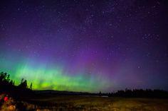 Night sky in Yellowstone National Park | Photo: James Kaiser