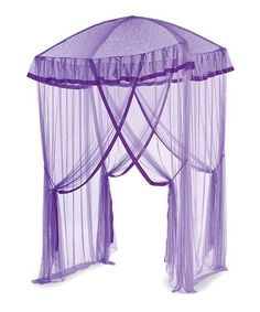 Love this Purple Sparkling Lights Canopy on #zulily! #zulilyfinds