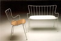 Antelope chair and sofa © Race Furniture