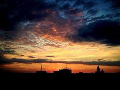 Orange sky | Timisoara | Romania