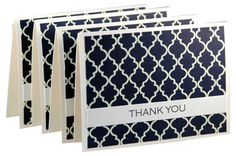 Set of 12 simple thank you cards, modern thank you notes, handmade thank you card set, wedding thank you cards on Etsy, $22.00