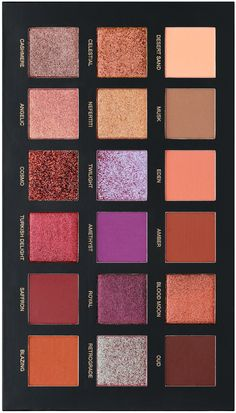 The Desert Dusk Eyeshadow Palette