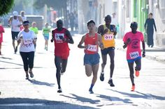Keniata Sthepen Kebet, ganador de la carrera del Señor de la Salud ~ Ags Sports