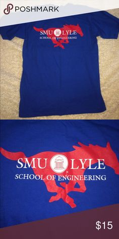 SMU Lyle School of engineering Size M Shirt SMU Lyle School of engineering Size M ...smoke free home if you have any questions let me know Shirts Tees - Short Sleeve
