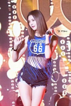 Rap, South Korean Girls, Korean Girl Groups, Snsd, Asian Woman, Asian Girl, Exid Junghwa, Pretty Asian, Stage Outfits
