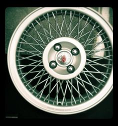 S-Ray wire wheel for MINIs and Fiat 500's``