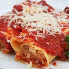 A Delicious recipe for herb ricotta cannelloni, Enjoy served with garlic bread and a salad.