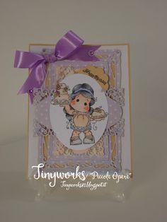 TinyWorks: Card Happy Birthday
