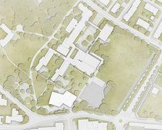 © extrā Landschaftsarchitekten - 1. Rang / 1. open competition, school expansion Marzili, Bern, 2015 Bern, The Expanse, Competition, Culture, Landscape Architects