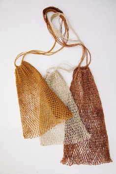 At Pampa, we are excited to have expanded our offering to include beautiful artisan-made bags, baskets and new textiles, launching with our Litoral collection. These objects and accessories have… Textiles, Freitag Bag, Mode Inspiration, Mode Style, Zero Waste, Knit Crochet, Crochet Bags, Knitted Bags, Hand Weaving