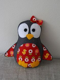 Penguin Softie - would have to DIY it