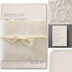 Wedding invitations classic style magazine