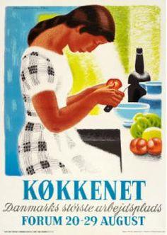 Aage Sikker Hansen køkkenet