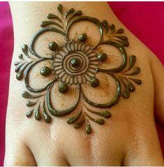 Henna Flower Designs, Mehndi Designs For Kids, Finger Henna Designs, Full Hand Mehndi Designs, Mehndi Designs Book, Mehndi Designs For Beginners, Flower Henna, Mehndi Design Photos, Mehndi Designs For Fingers