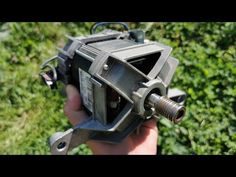Electric Motor, Electric Cars, Washing Machine Motor, Go Kart Plans, Homemade Generator, Homemade Tools, Some Text, Mechanical Engineering, Simple Way