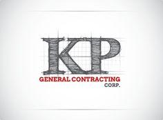KP Construction Logo Design By LogoTod