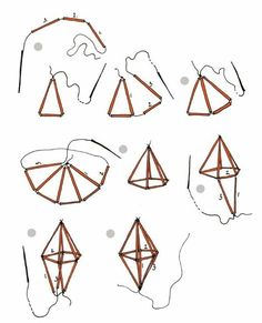 New Diy Art Geometric Decoration 43 Ideas Diy And Crafts, Crafts For Kids, Arts And Crafts, Paper Crafts, Diy Straw Crafts, Plastic Straw Crafts, Christmas Crafts, Christmas Decorations, Christmas Ornaments