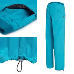 Men's pants Emil, turquoise  Kletterhose Emil, türkis
