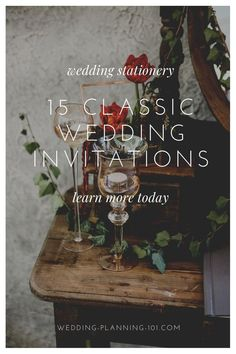 Get ideas and see photos of classic wedding invitations today! #ClassicWeddingInvitations #ClassicWeddingInvitationIdeas #TraditionalWeddingInvitations #TraditionalWeddingIdeas #WeddingInvitations