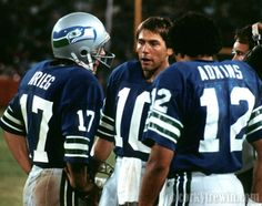 Jim Zorn with Dave Krieg and Sam Adkins (Oldies-but-Goodies) Seahawks Players, Nfl Football Players, Football Love, School Football, Football Helmets, Football Stuff, Nfl Seattle, Seattle Seahawks, Seahawks Pictures