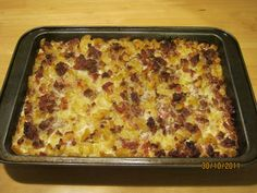 Makaroonilaatikko - macaroni casserole with ground beef