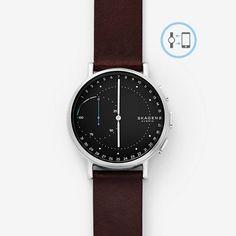 Hybrid Smartwatch - Signatur Dark Brown Leather | SKAGEN® | Free Shipping