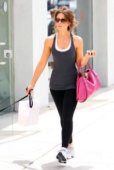 Kate Beckinsale Gym