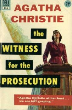 Dell Books - The Witness for the Prosecution - Agatha Christie