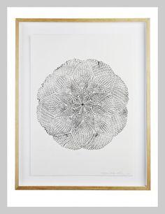 Japanese Garden Mandala Print | Lumiere Art + Co.