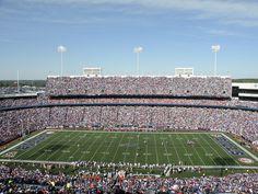 Orchard Park, New York - saw the Bills beat the Jets at Ralph Wilson Sadium