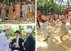 Roaring '20s Lawn Party on Governors Island    June 16 and 17/August 18 and 19