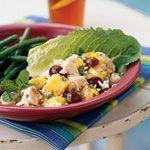 Chicken, Rice, and Tropical Fruit Salad Recipe | MyRecipes.com