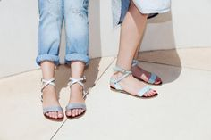 Sandals Summer Summer Sandals , Womens Open Sandal , Leather Sandals , Silver Sandal with Ankle Strap , Roman Sandals , Summer Flats - There is nothing more comfortable and cool to wear on your feet during the heat season than some flat sandals.
