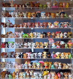 littlest pet shop collection @tabby made me think of your girls!