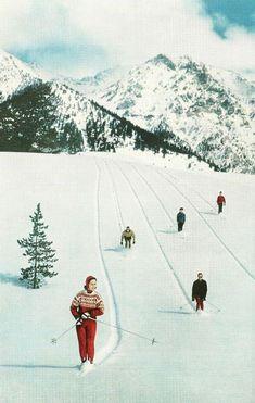 From the Seaside to the Ski Slopes: Winter Sun Protection – Sailormadeusa Ski Vintage, Vintage Ski Posters, Vintage Travel, National Geographic Photography, Ski Mountain, Retro Aesthetic, Pics Art, Belle Photo, Vintage Images