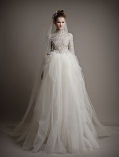 Ersa Atelier - Bridal Collection for Spring 2015 - fashionsy.com