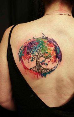 93 Mejores Imágenes De Tatuaje árbol De La Vida Tree Of Life