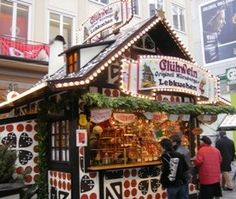 Drink hot wine (Gluehwein) to stay warm (or Kinderpunsch for non-alcoholic)