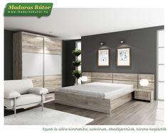 102 1. Sevilla ágy: ágyráccsal + 2 db éjjeli szekrény bútor kép