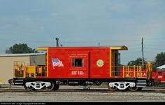 RailPictures.Net Photo: TRRA 634 Terminal Railroad Association of St. Louis Caboose at Madison, Illinois by Mike Mautner