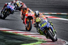 MotoGP Catalunya 2014. Valentino Rossi, Marc Marquez, Dani Pedrosa, Jorge Lorenzo.