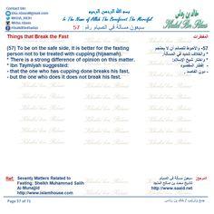 Seventy Matters Related to Fasting By: Sheikh Muhammad Salih Al‐Munajjid PDF: docs.google.com/... #islam #islamic #ramadan #Fasting #english #Arabic #Turkish #Uk #USA #Canada