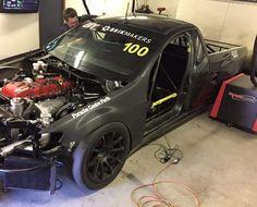 Ford fg xr6 turbo ute race car