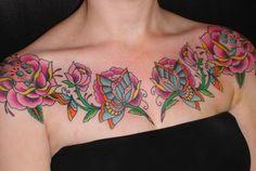 Love these tattoos by Saira Hunjan!