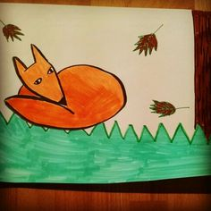 Fox by a ten year old girl