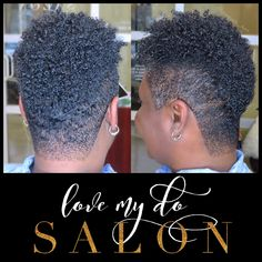 Love My Do' specializes in unique and trending healthy hair styles, weaves/extensions, cuts, custom color, diverse textures & short styles Natural Mohawk, Short Natural Curly Hair, Tapered Natural Hair, Natural Hair Tips, Natural Hair Styles, Curly Afro, Mohawk Hairstyles, Fancy Hairstyles, Kelis Hair