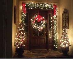 Christmas Front Porch Decor - so cute!