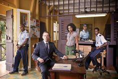 Awesome new BBC show shown to me by my TV Sherpa friends - Death in Paradise