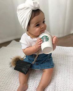 Image may contain: 1 person – Baby For look here Outfits Niños, Cute Baby Girl Outfits, Cute Outfits For Kids, Cute Baby Clothes, Cute Little Baby, Little Babies, Cute Babies, Baby Swag, Kids Girls