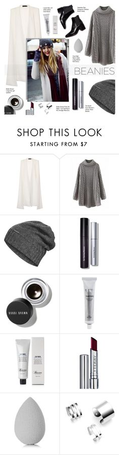 """Beanie for winter"" by pankh ❤ liked on Polyvore featuring Lavish Alice, The North Face, Bobbi Brown Cosmetics, Meraki, Baxter of California, By Terry and beautyblender"